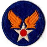 WWII AAF  Headquarters  Patch