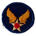 WWII AAF Headquarters On Twill Patch