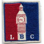 WWII London Base Command Patch On Felt