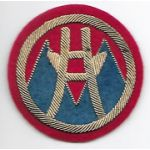 1940's-1950's 2nd Logistical Command Japanese Made Bullion Patch