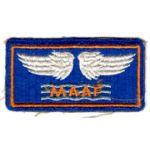 WWII AAF Mediterranean Air Force Patch