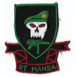 Vietnam Recon Team Mamba Thai Made Pocket Patch