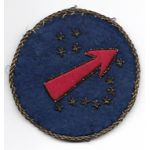 WWII - Occupation Southwest Pacific German Made Bullion Patch