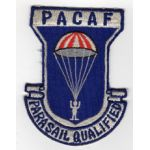 PACAF Parasail Qualified Squadron Patch