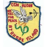 Vietnam Special Forces Recon Team Rhode Island Team Pocket Patch
