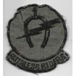 Vietnam 7th Squadron 17th Cavalry RUTHLESS RIDERS Pocket Patch
