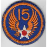 WWII 15th Army Air Force Patch