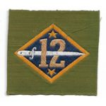 WWI 12th Division Liberty Loan Patch