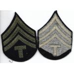 WWII Technical Sergeant Chevron Set