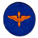 WWII AAF Air Cadets Blue Background Patch