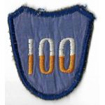 1940's-1950's Theatre Made 100th Division Patch