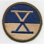 WWII 10th Corps Patch