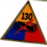 130th Armor Patch.