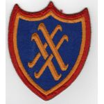 WWII 20th Corps Patch