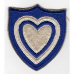 WWII 24th Corps Patch