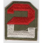 WWII 2nd Army Patch