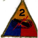 WWII 2nd Armor Division Patch