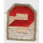 WWII 2nd Army On Twill  Patch
