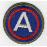 WWII 3rd Army OD Border  Patch