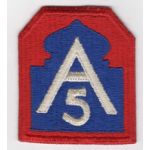 WWII 5th Army Patch