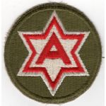 WWII 6th Army Patch