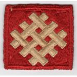 WWII 6th Army Group Patch