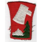 WWII 70th Division Patch