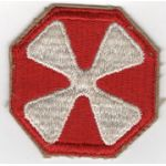 WWII 8th Army Patch.