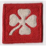 WWII 4th Army Patch