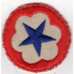 WWII Army Service Forces On felt  Patch