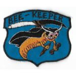 Vietnam 116th Aviation Company Maintenance Section BEE-KEEPER Pocket Patch