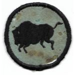 WWI 92nd Division Infantry BUFFALO Patch