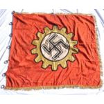 Late 1930's - WWII German DAF Exemplary Factory Flag