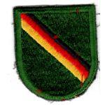 Vietnam Era 10th Special Forces Beret Flash