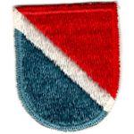 Vietnam Era 11th Special Forces Beret Flash