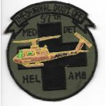 Vietnam 57th Medical Detachment Helicopter Ambulance THE ORIGINAL DUST OFF Pocket Patch
