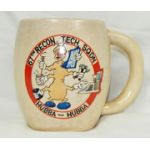 Korean War 67th Recon Technical Squadron 5th Air Force Japanese Made Mug