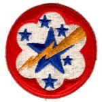 WWII Army Forces Western Pacific Patch