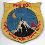 South Vietnamese Phu Duc PRU / Provisional Recon Unit Patch