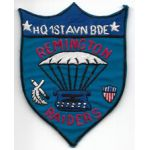 Vietnam 1st Aviation Brigade REMINGTON RAIDERS Pocket Patch