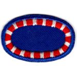 1950's-1960's 122nd Airborne Engineer Battalion Oval