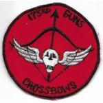 Vietnam 173rd Aviation Company GUNS CROSSBOW Pocket Patch