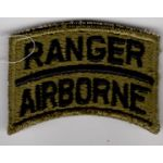 Vietnam Era Theatre Made Airborne Ranger Tab Set