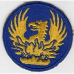 WWII Military Personnel Veterans Administration Patch