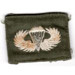 1960's US Army Basic Airborne Jump Wing
