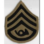 WWI Bugler Staff Sergeant Chevron