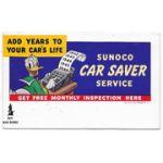 WWII Home Front Disney Donald Duck Sunoco Oil Buy War Bonds Ink Blotter