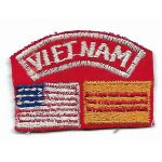 Vietnam Novelty Flags Boonie Hat Patch