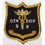 Vietnam 229th Medical General Dispensary Pocket Patch