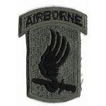 Vietnam Era 173rd Airborne Brigade German Made Patch